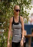 Caroline Wozniacki - 2013 DP World Tour Championship in Dubai - November 2013
