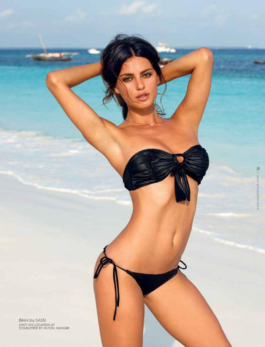 Catrinel Menghia Bikini Photoshoot - South African Swimsuit 2013