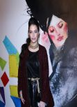 Chloe Bridges at Night Of Fashion And Art in New York CIty