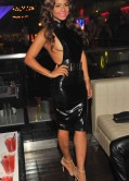 Christina Milian Latest Hot Pics in Black Dress