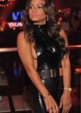 Christina Milian Latest Hot Pics in Black Dress
