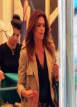 Cindy Crawford Street Style - Shopping in Beverly Hills - Nov. 2013