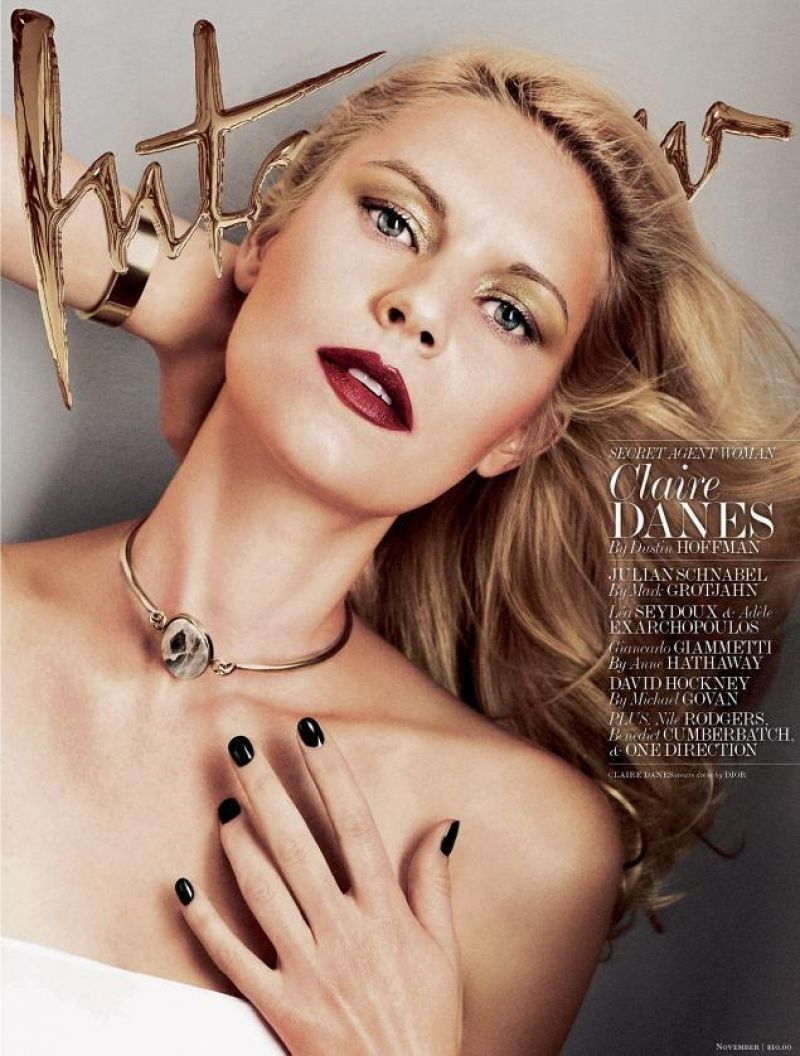 Claire Danes - INTERVIEW Magazine - November 2013 issue