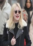 Dakota Fanning Street Style - Out in New York City