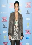 Demi Lovato at the X Factor Top 12 Party in Beverly Hills