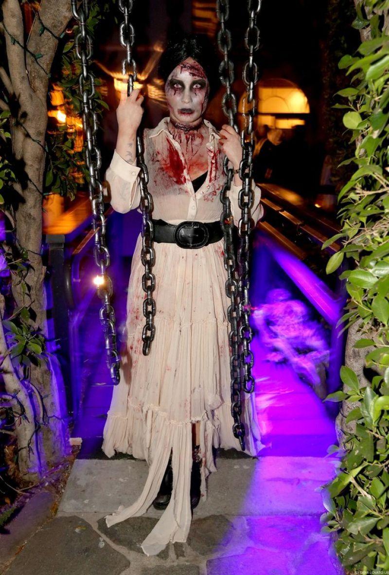 Demi Lovato Halloween Party October 13