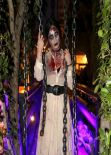 Demi Lovato - Halloween Party - October 2013