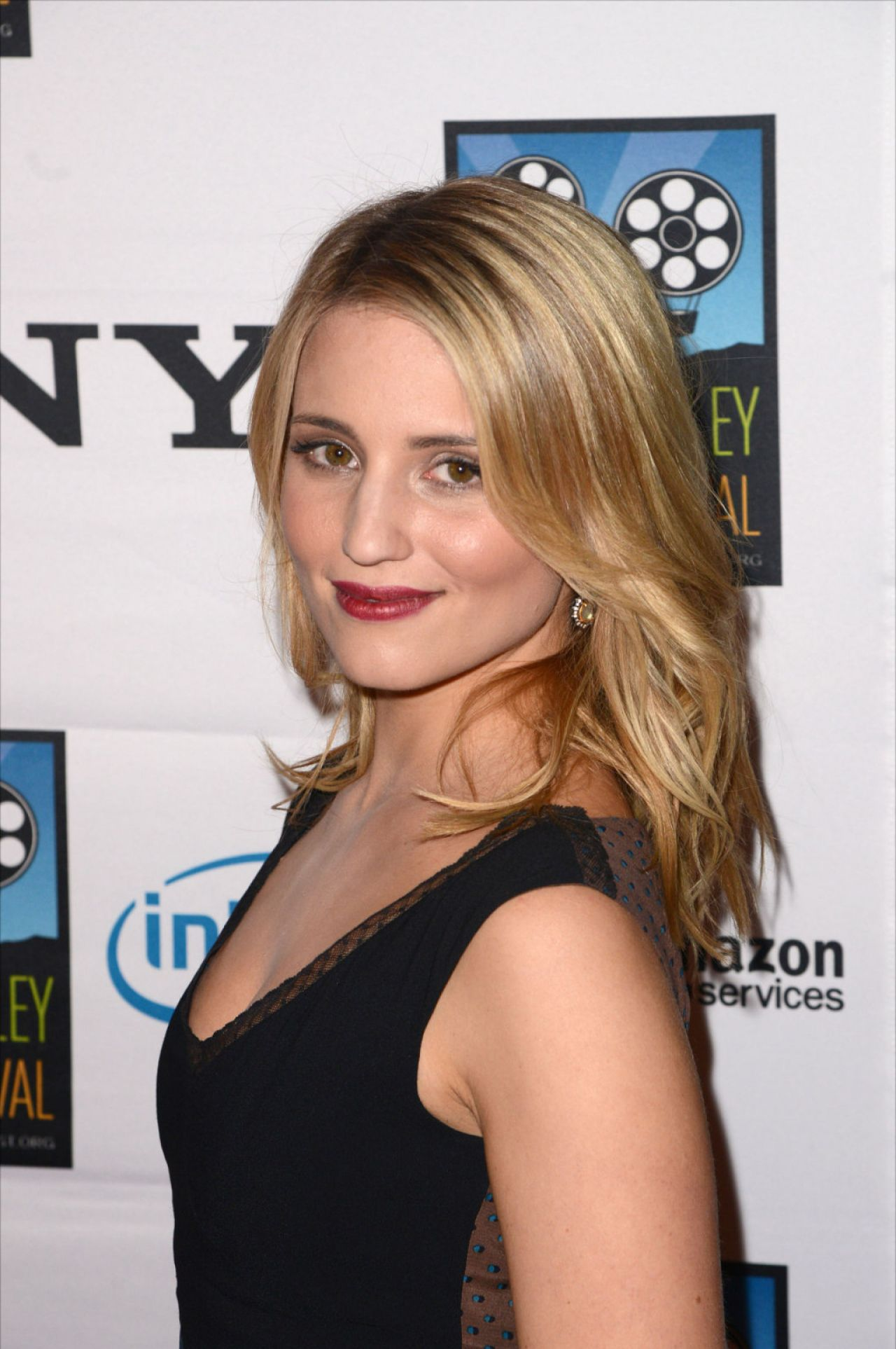 dianna agron at napa valley film festival celebrity tribute