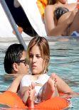 Eiza Gonzalez in a Bikini - Relax Pool Side in Miami - November 2013