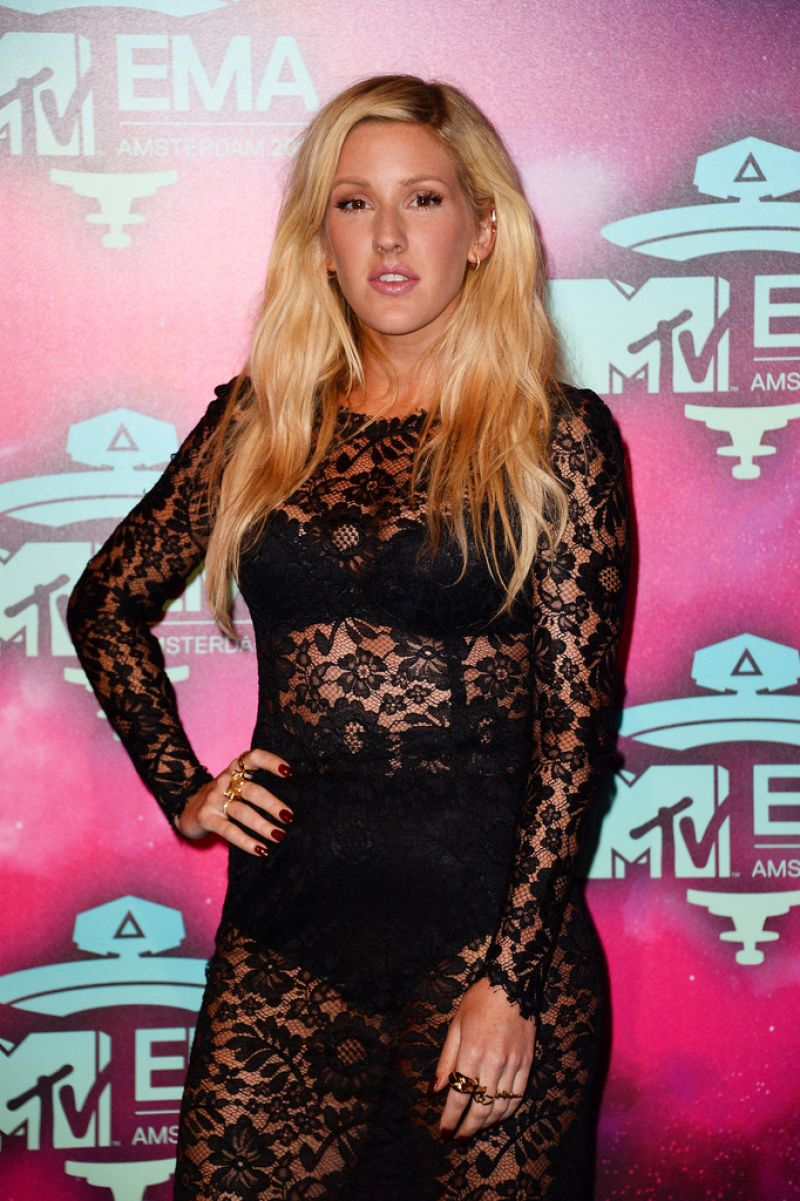 Ellie Goulding - 2013 MTV EMA