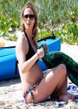 Emily Blunt in a Bikini on the Beach in Honolulu - November 2013