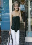 Emma Watson Street Style - Shopping at Kitson in Beverly Hills