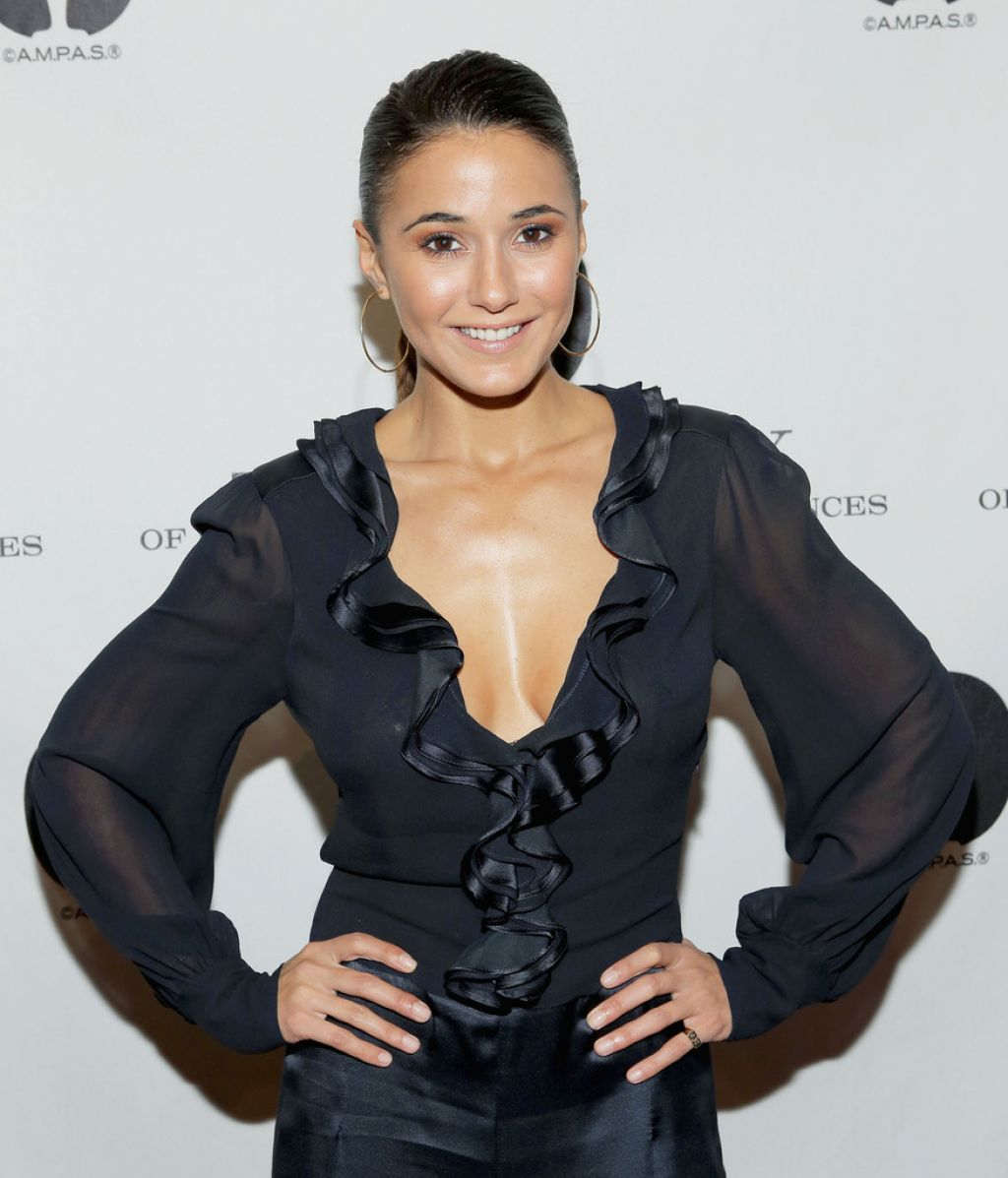 "Emmanuelle Chriqui on Red Carpet - at The Academy Of Motion Picture Arts And Sciences presents ""Like Magic"""