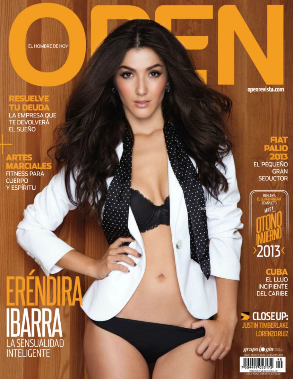 Erendira Ibarra - OPEN Magazine (Mexico) - November 2013 Issue