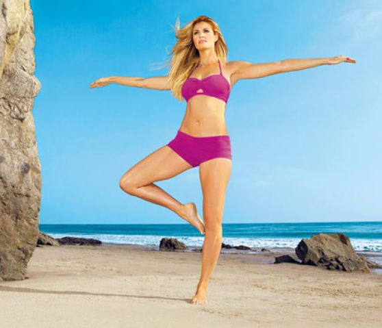 Erin Andrews - SELF Magazine Workout Pics