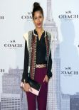 Freida Pinto Attends the Opening of Coach in Madrid - November 2013