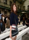 Gemma Arterton at Chloe Fashion Show in Paris