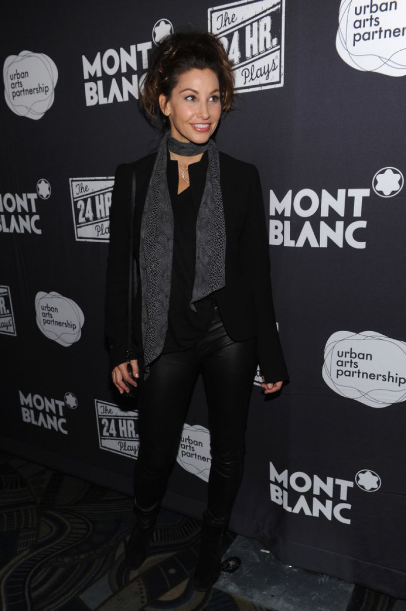 Gina Gershon Photos From The 13th Annual 24 Hour Plays On Broadway After Party New York City