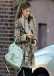 Gisele Bündchen Street Style  - Out in Boston - November 2013