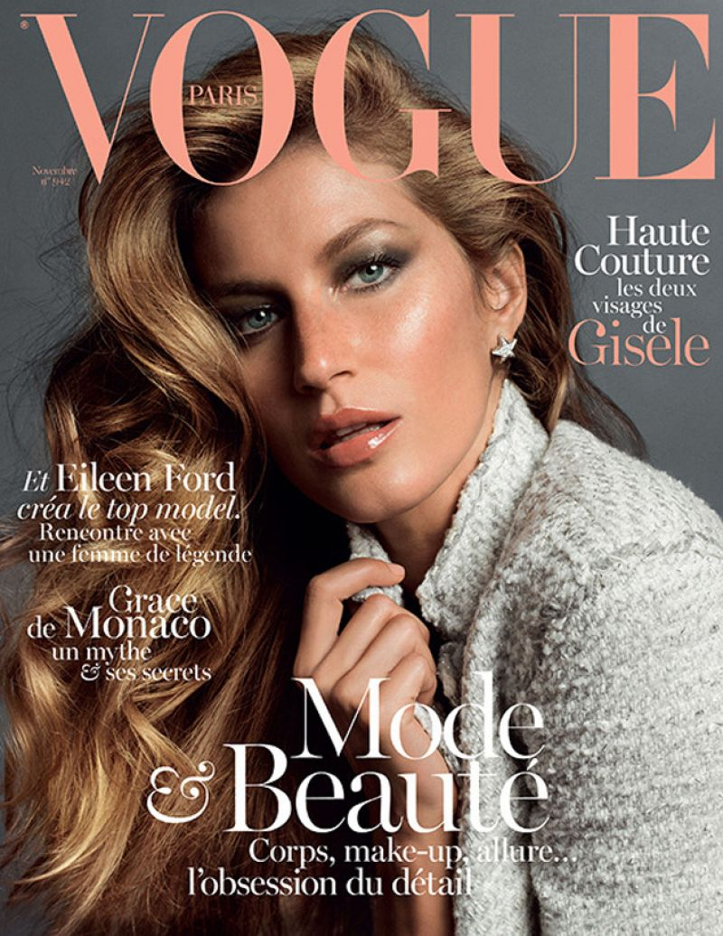 Gisele Bundchen - VOGUE Magazine Paris - November 2013 Issue