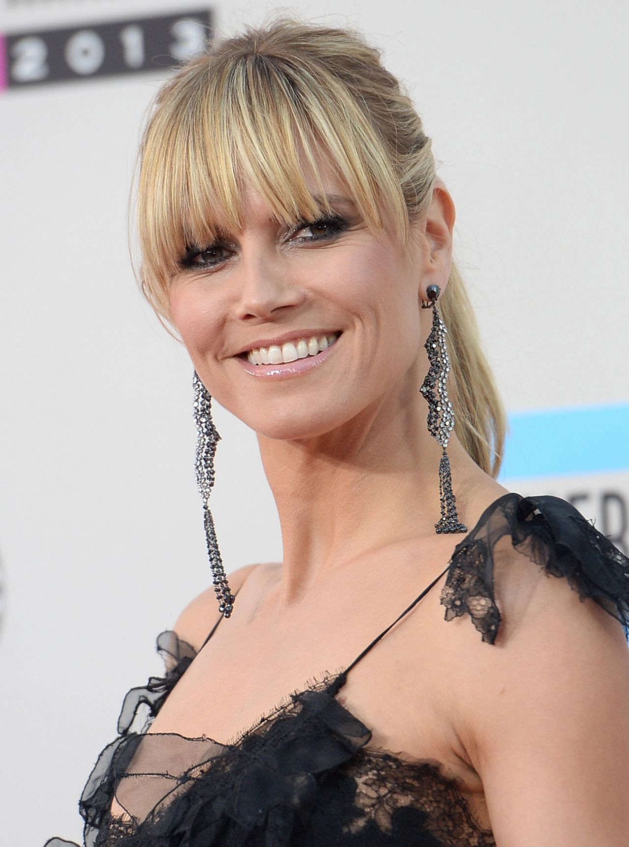 Heidi Klum at 2013 American Music Awards in Los Angeles
