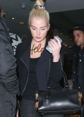 Helen Flanagan Street Style - Out for Dinner at Lush Italian Restaurant in central Manchester
