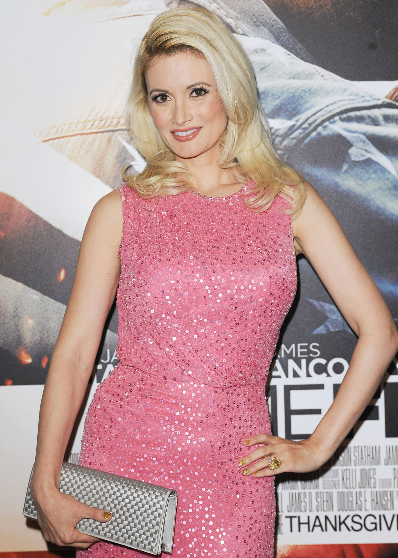 Holly Madison Red CArpet Photos - HOMEFRONT  Premiere in Las Vegas - November 2013