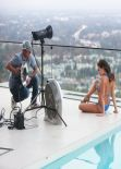 Jaclyn Swedberg Bikini Photoshoot  for '138 Water' in Universal City