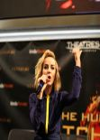 Jena Malone - THE HUNGER GAMES: CARCHING FIRE Promotion Tour in Bloomington