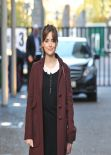 Jenna-Louise Coleman Street Style - After Appearing on the