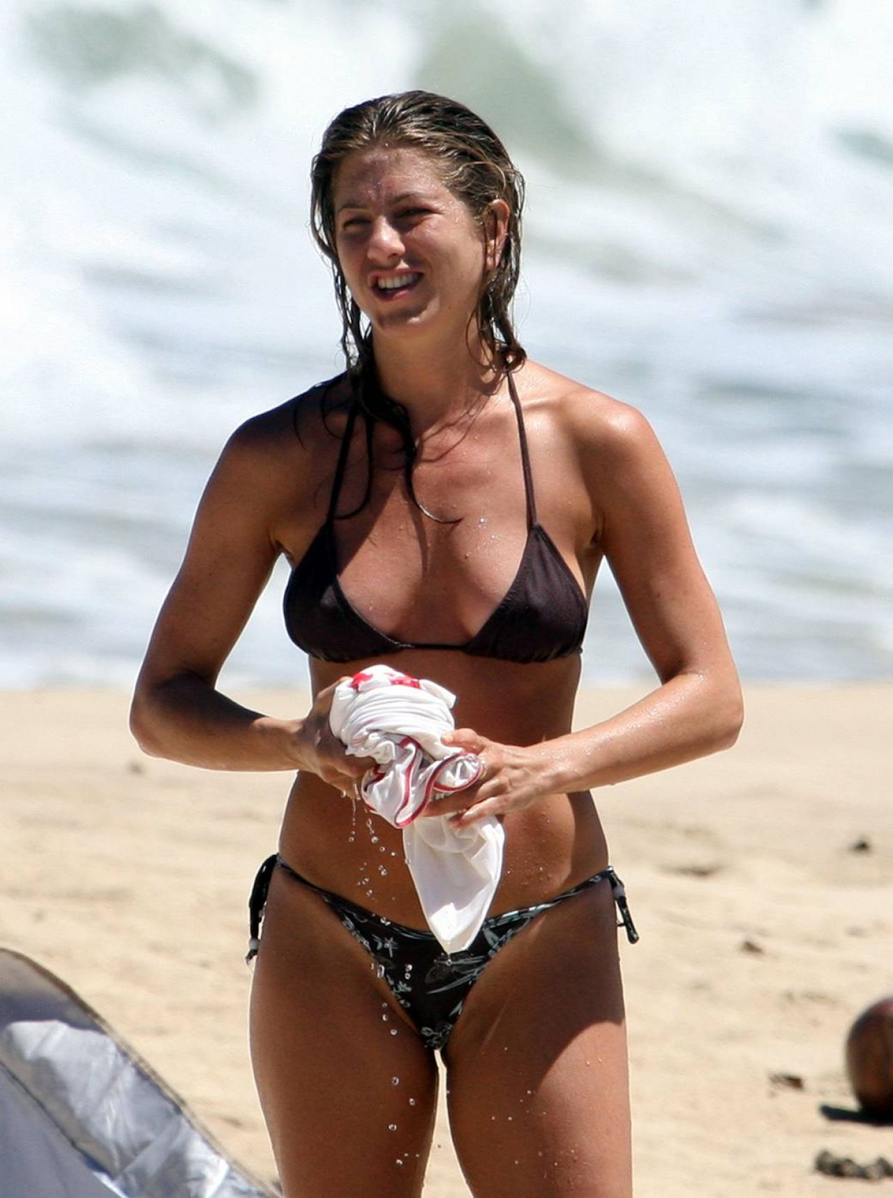 Jennifer Aniston in a Bikini - Maldives