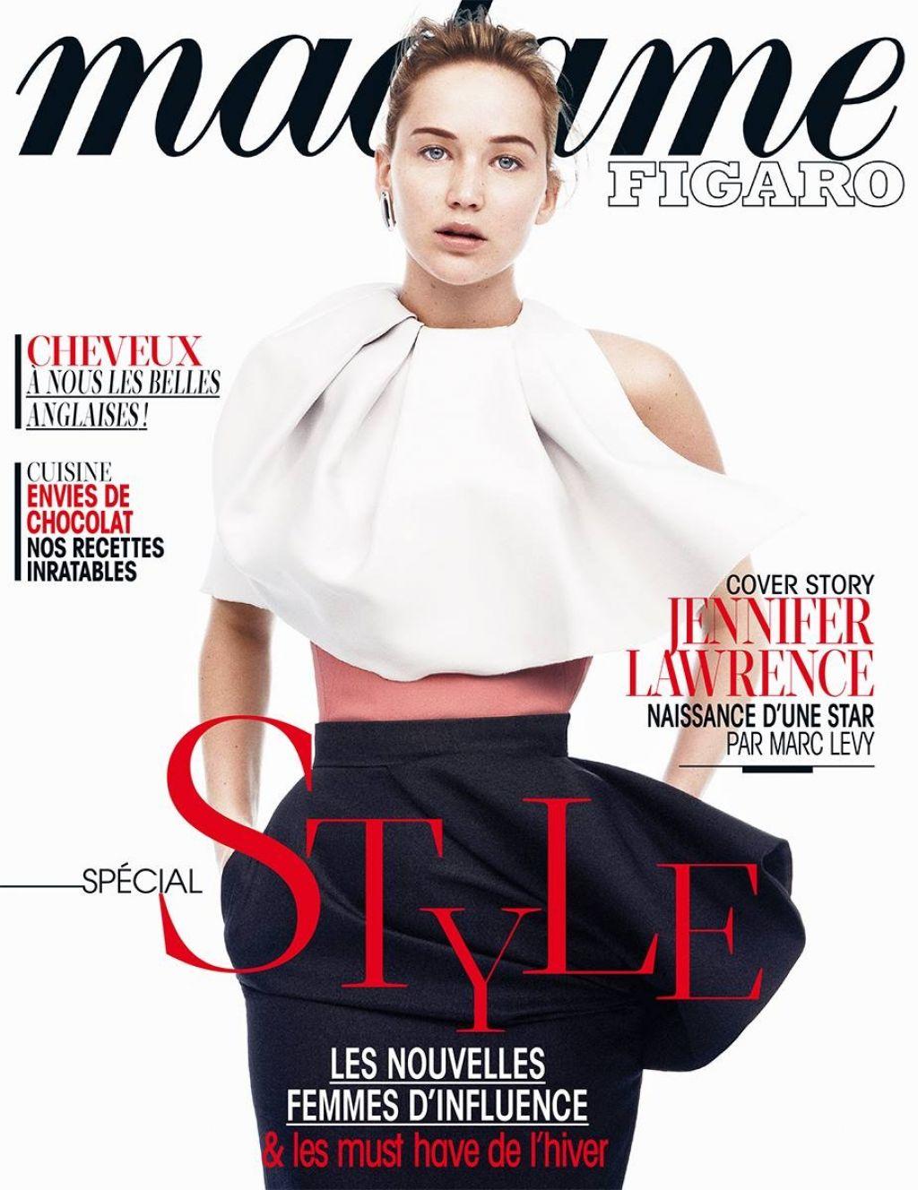 Jennifer Lawrence - MADAME FIGARO Magazine - Special Style Issue