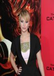 Jennifer Lawrence on Red Carpet - 22 Photos From THE HUNGER GAMES: CATCHING FIRE Premiere in New York
