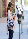 Jessica Alba Street Style - Beverly Hills, November 5, 2013
