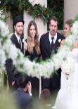 Jessica Biel at Chris Kirkpatrick Wedding in Orlando
