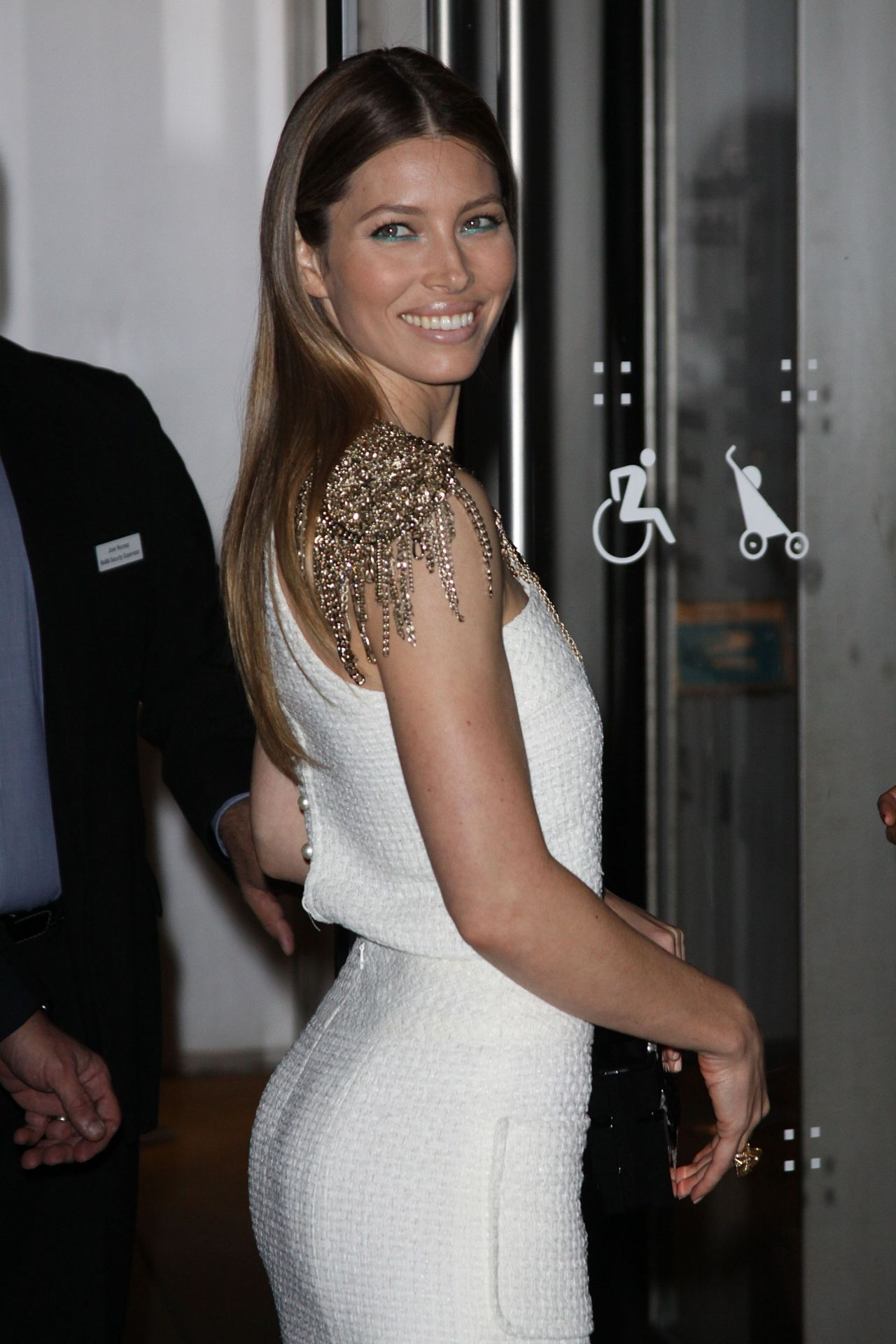 Jessica Biel - The Museum of Modern Art Film Benefit in New York City
