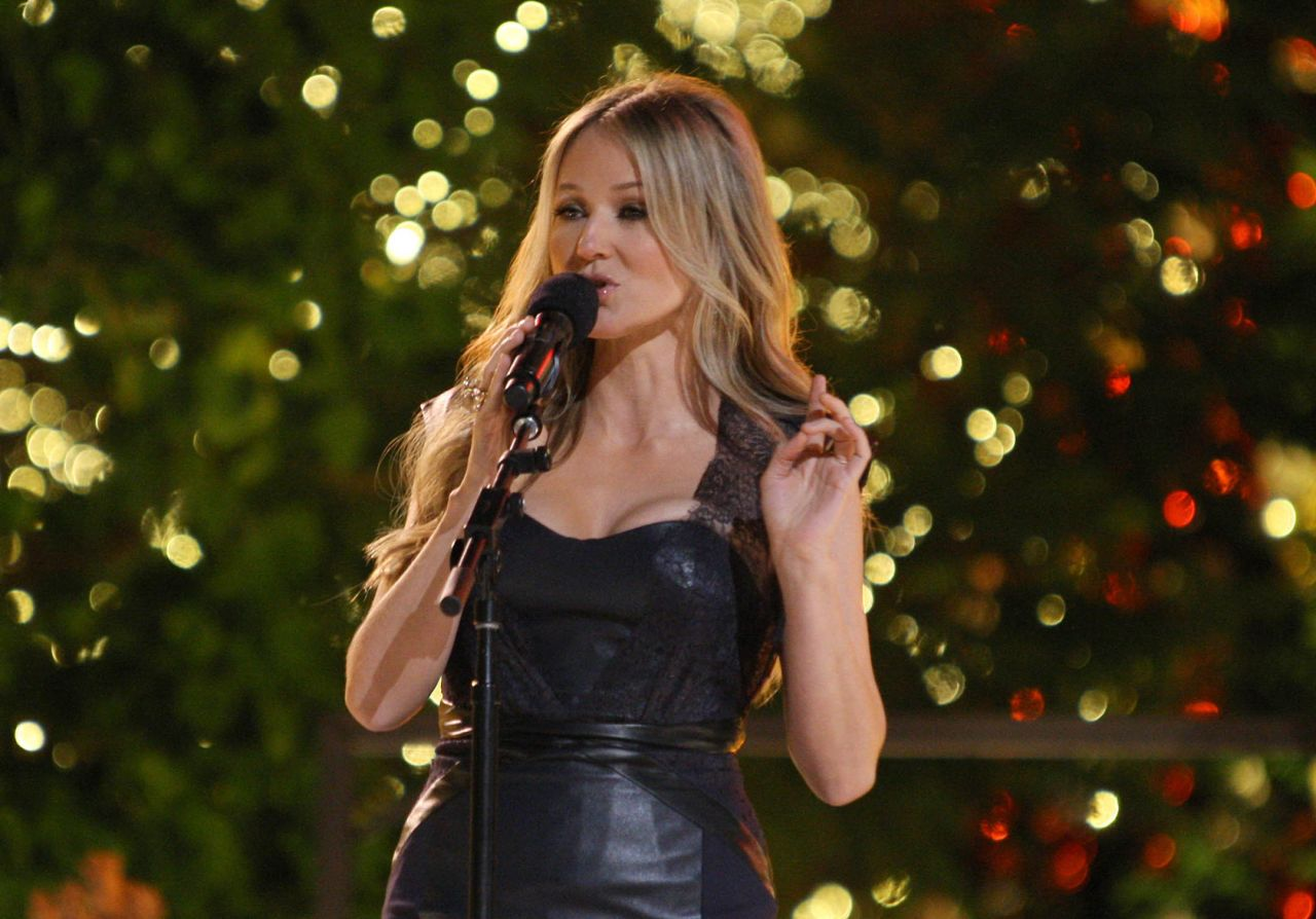 Jewel At 11th Annual Tree Lighting Ceremony At The Grove