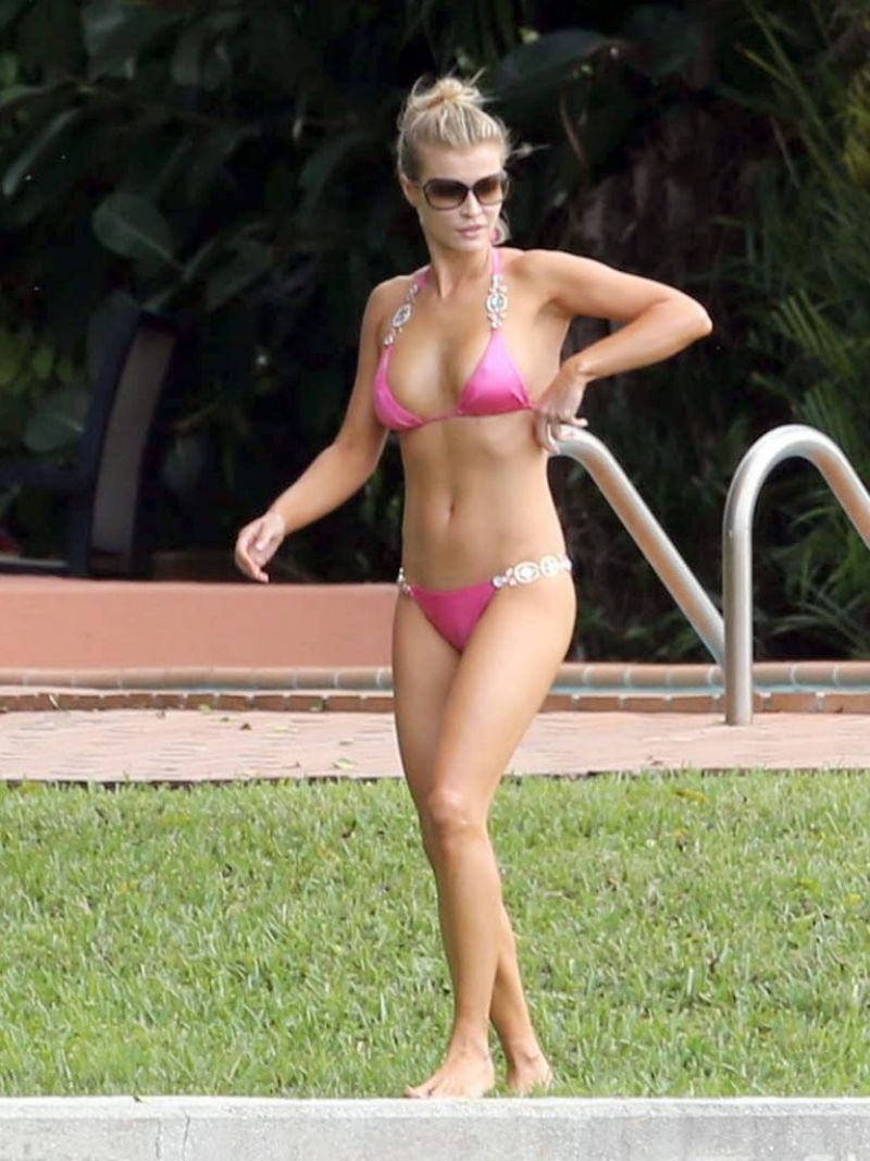 Joanna Krupa Bikini Photos - Miami - November 2013