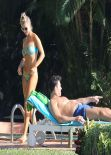 Joanna Krupa in a Bikini - Miami - November 2013