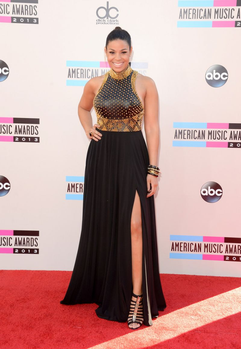 Jordin Sparks on Red Carpet - 2013 American Music Awards