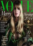 Julia Stegner - VOGUE Germany, December 2013 Issue