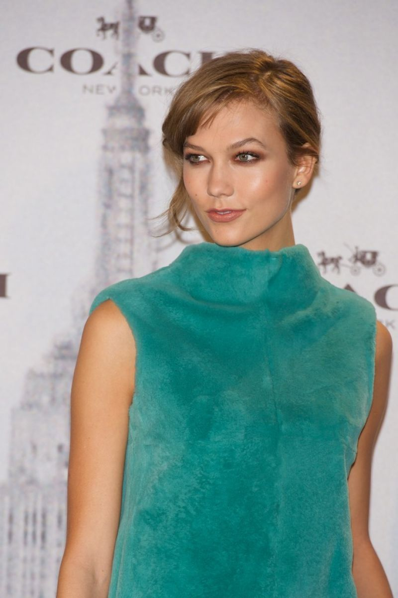 Karlie Kloss Attends Coach Boutique Opening in Madrid - November 2013