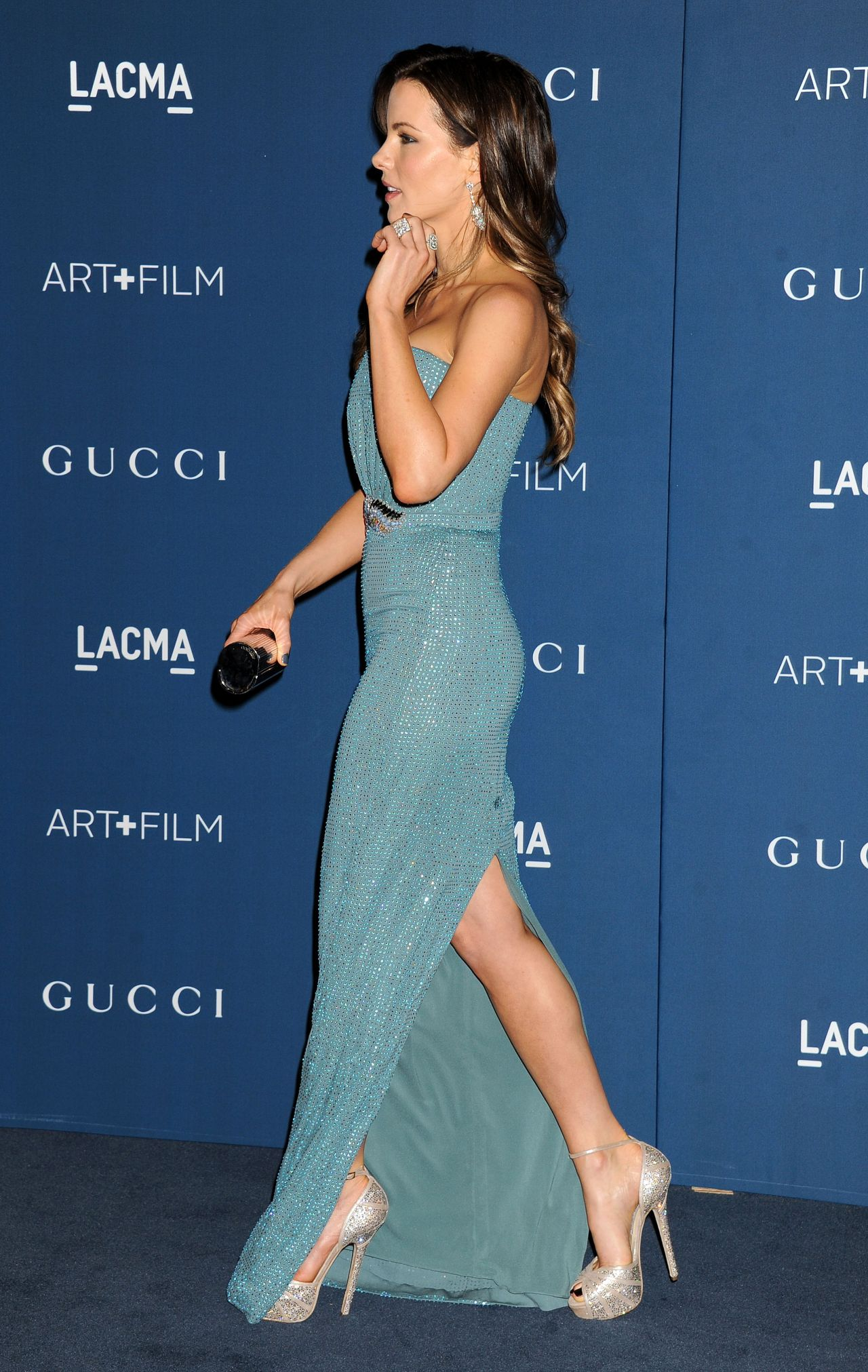 Kate Beckinsale On Red Carpet Lacma 2013 Art And Film Gala