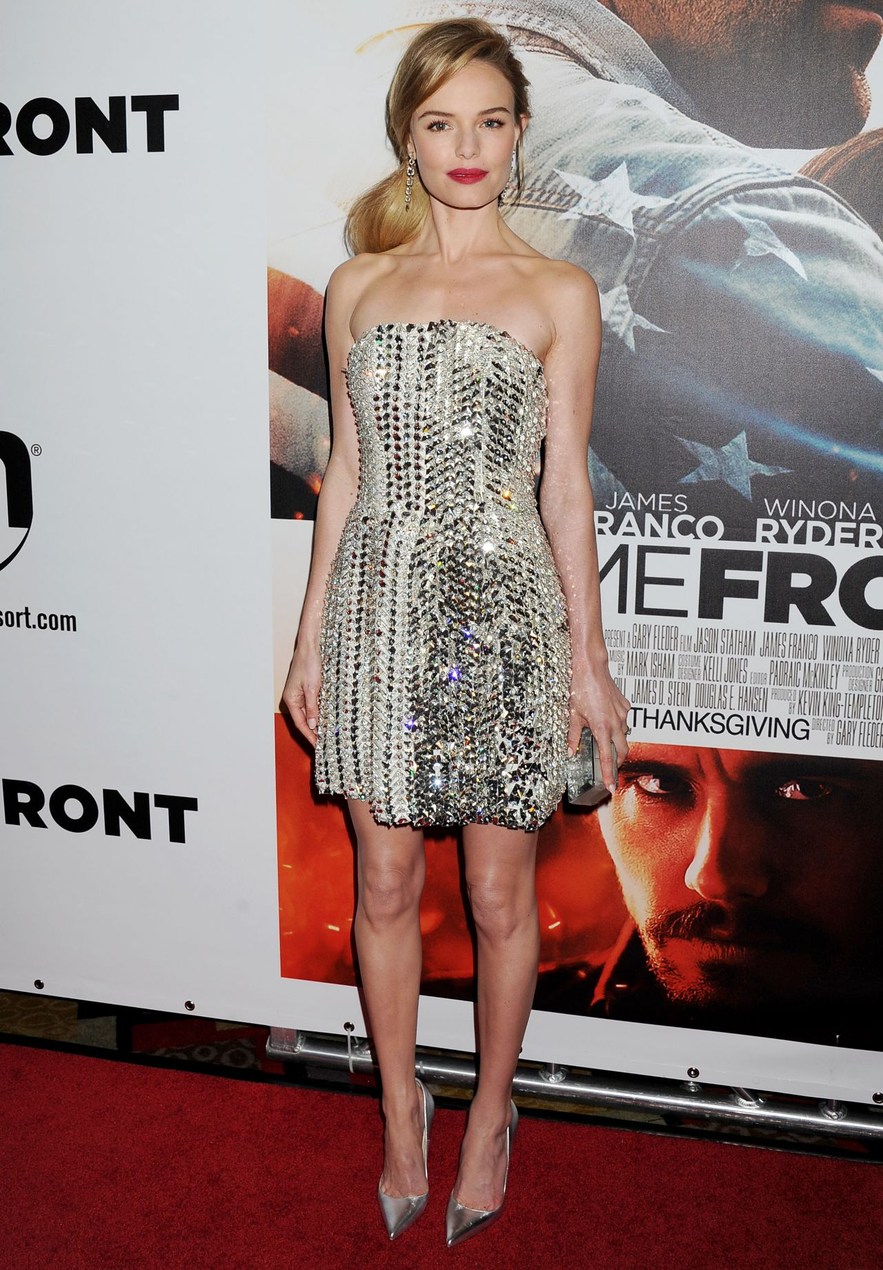 Kate Bosworth On Red Carpet Homefront Movie Premiere In