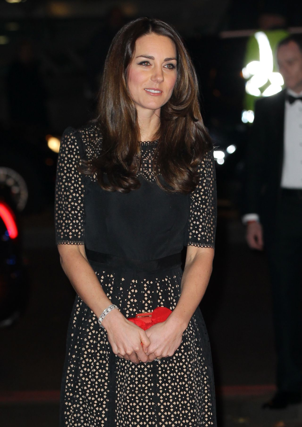 Kate Middleton Attends Annual SportsAid Dinner at Victoria Embankment Gardens in London - November 2013