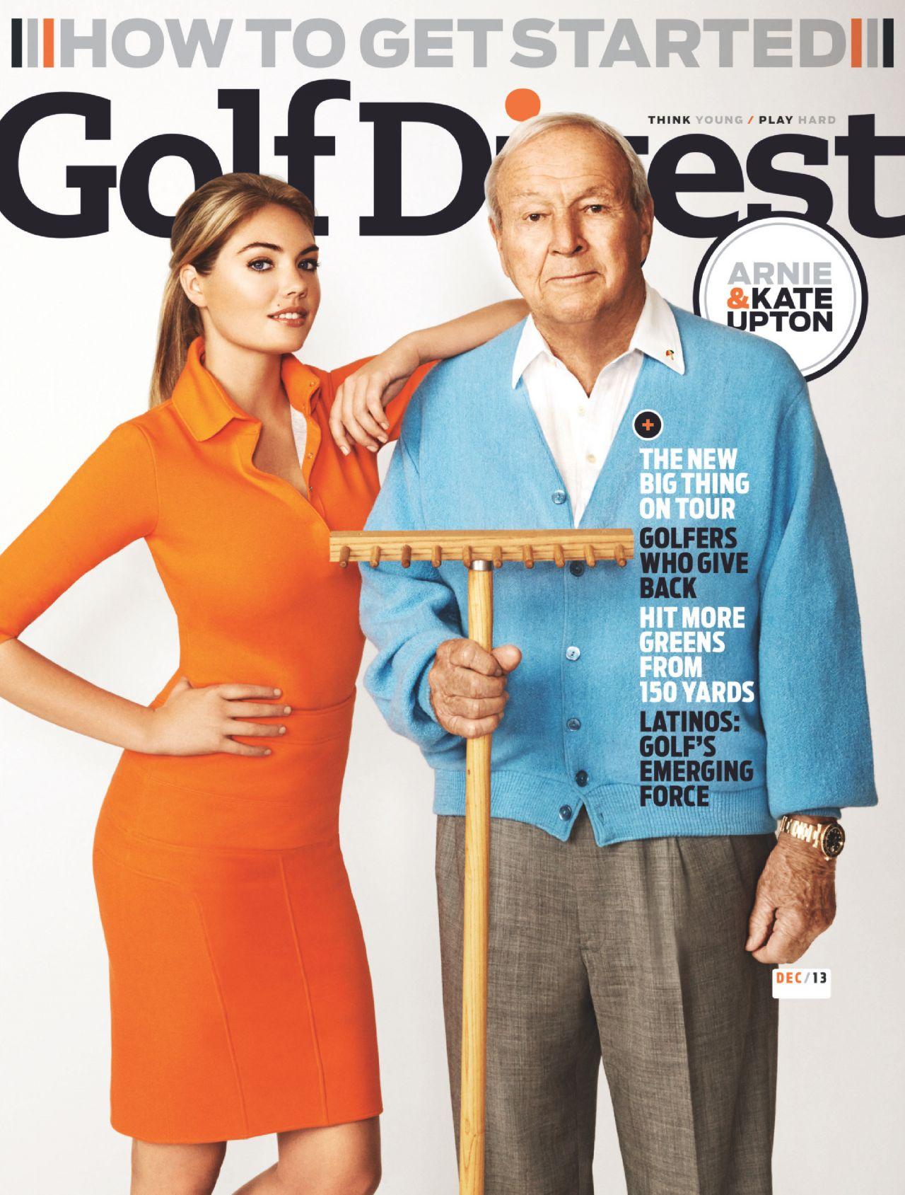 Kate Upton - GOLF DIGEST Magazine - December 2013 Issue