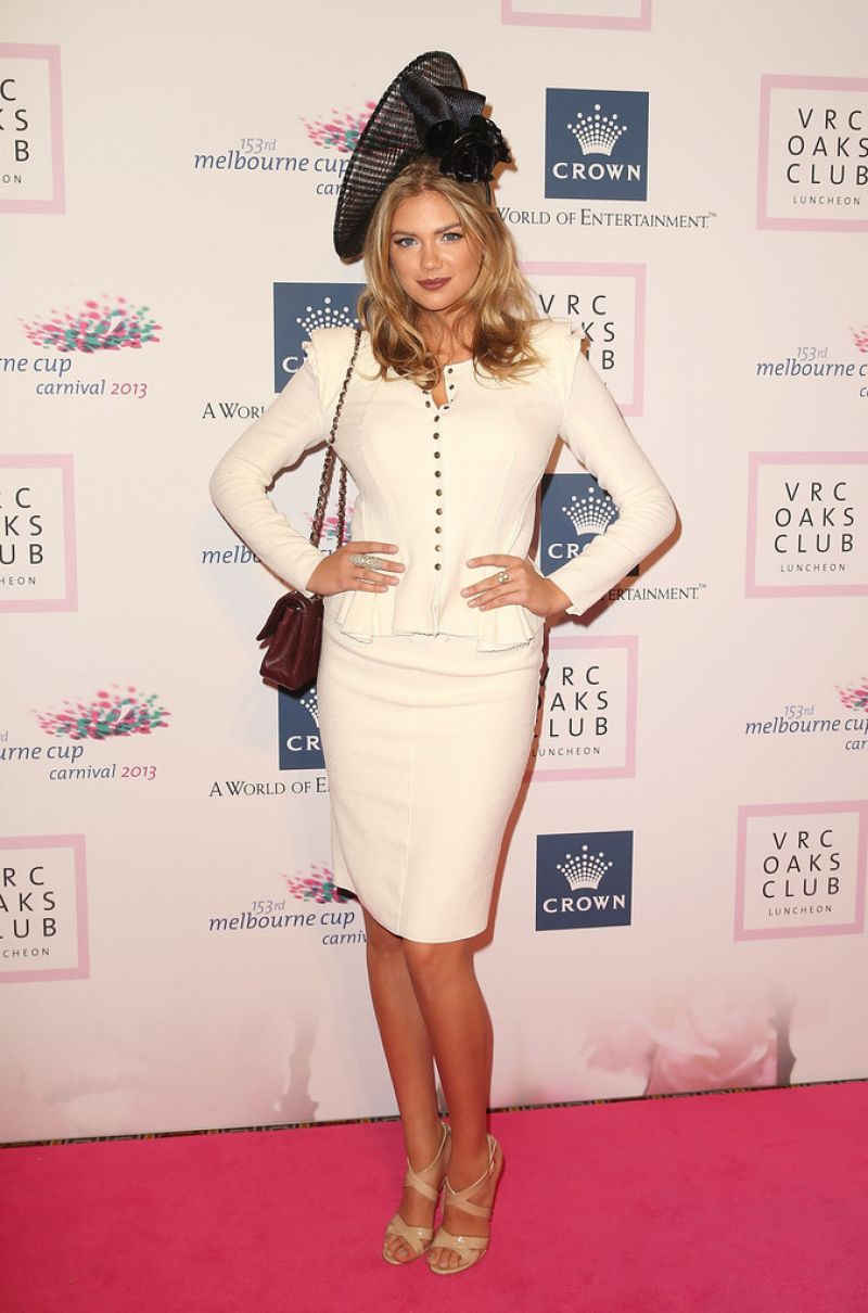 Kate Upton Red Carpet Photos - VRC Oaks Club Luncheon in Melbourne