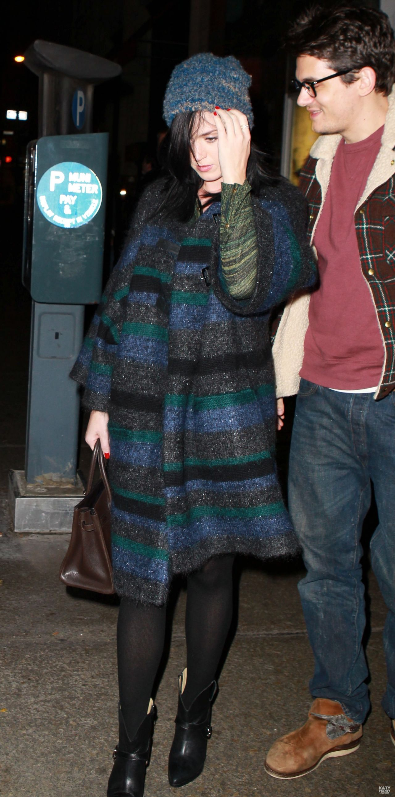 Katy Perry Street Style - Leaving ABC Kitchen Restaurant In New York - November 2013