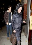 Katy Perry Street Style - Out For Dinner In New York - November 2013