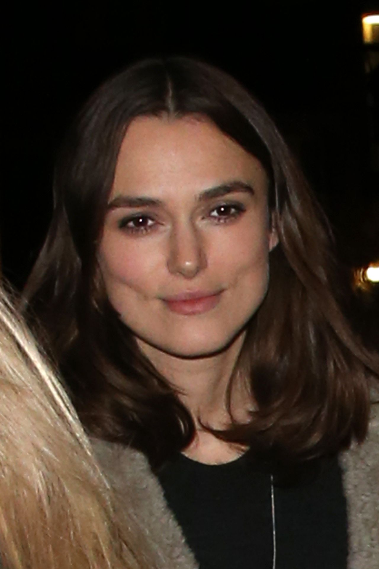 Keira Knightley Street Style - Out in London - November 2013